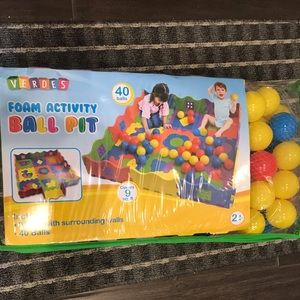 Foam Activity Ball Pit
